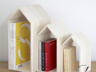 桐のブックハウスNEST / ブックエンドの画像