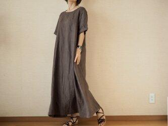 半袖ワンピース リネン No.99-05の画像