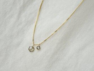 Little treasures diamonds necklaceの画像