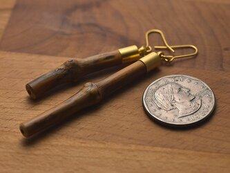 【限定品】自然の小枝のイヤリング/ピアス 0303の画像