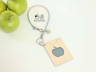 林檎の窓のパスケース・Ringo no mado サックスブルーの画像