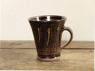 イッチンのマグカップ(飴釉)の画像