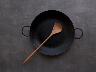 キッチンスプーン 【くるみ】 左用の画像