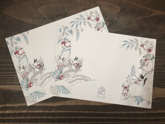 Perchオリジナルポストカード(同柄2枚入)の画像