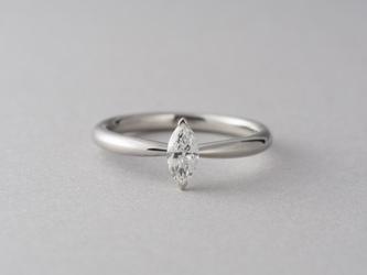 【オーダー】Erice マーキスカットダイヤモンドリングの画像