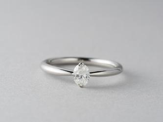 【オーダー】Erice オーバルシェイプダイヤモンドリングの画像