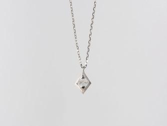 【オーダー】Gazzara ダイヤモンド原石ペンダント / Pt950の画像