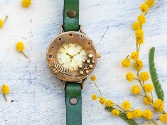 ミモザの花咲く頃腕時計Mの画像