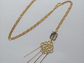 オリエンタル  モザイク  ネックレスの画像