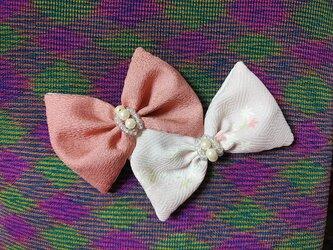 バレッタ「桜色に濃き淡き」の画像
