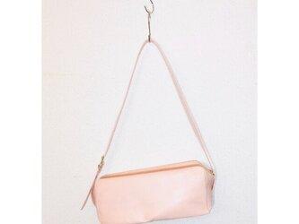 新作 豚革 ピンク ツールバッグ ショルダーバッグの画像