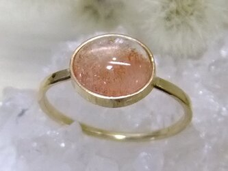 strawberry quartz*14kgf ringの画像