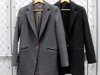 ㉖ la vest laine[グレー]の画像