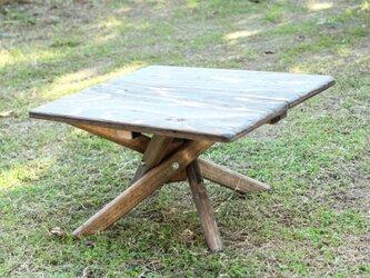 折りたたみミニテーブル クロス キャンプ アウトドア camp outdoorの画像