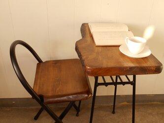 けやきアイアンテーブルイス(1)セット12-15-1の画像