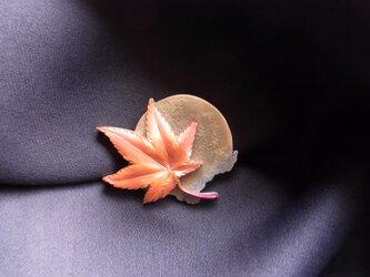 セミオーダ【月と紅葉「望月」】の画像