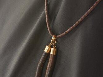 【限定品】流木の小枝のペンダント [W] 0351の画像