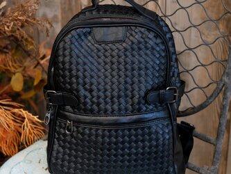大容量 通学通勤 リュックサック 鞄 バッグ シンプル レザー ハンドバッグ ショルダーバグ レジャーバッグトートバッグの画像