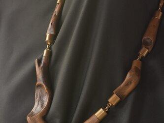 【限定品】流木の小枝のネックレス 40001の画像