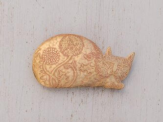 ブローチ「猫さん」シリーズの画像