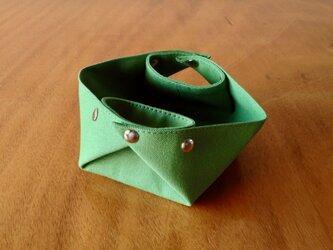 折りたたみコンテナ S[黄緑]の画像