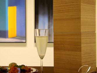 桐のワインキーパー【シングルクーラー】の画像
