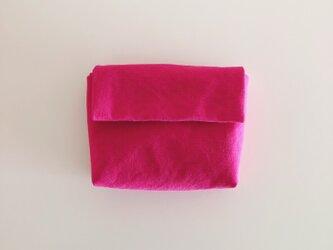 きちんとポーチ M  / pinkの画像