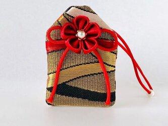 元巫女の花のお守り袋(葉波)の画像