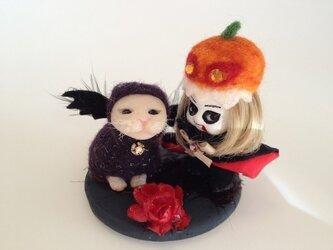 ハロウィン人形の画像