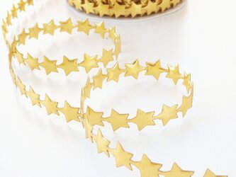 (1m) 金色の星のテープ イギリス製の画像