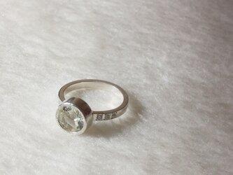〈一点もの〉Green quartz / Ring - グリーンクォーツの画像