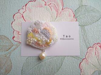 刺繍ブローチ Primaveraの画像