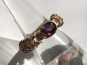 『 Rose garden ( inner ) 』Ring by K14GFの画像