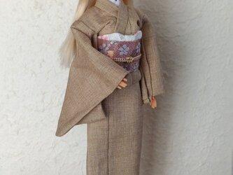 「春きなこ…桜」28~30cmドール着物の画像