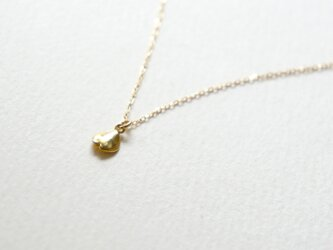 桜ネックレスK18ゴールドskng1の画像