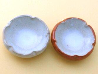 梅角豆皿紅白セットの画像