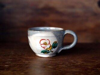 紅白椿のマグカップBの画像