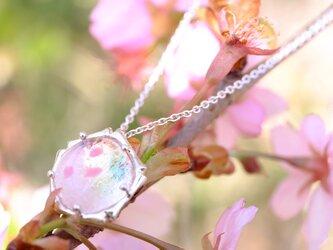 桜玉・桜彩 首飾りの画像