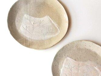 冬枯れプレート皿の画像