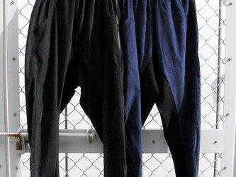⑬-2 le pantalon velous[ネイビー]の画像