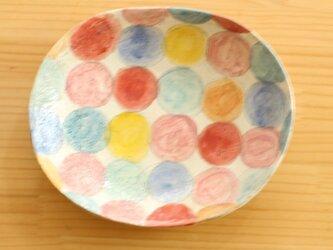 ※S様専用画面 粉引きカラフルドットのオーバル皿、幸せの青い鳥サラダボウル、おうちのパスタ皿、その他2点。の画像