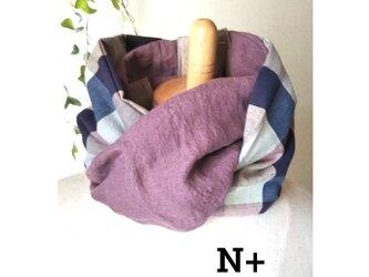 20-01 保冷剤入れ付スカーフ風日除けネックウォーマーの画像