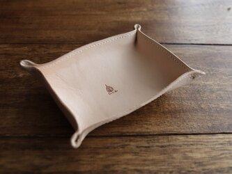 ヌメ革のレザートレイ-Sの画像