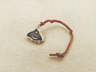 銀製の鈴 『 千鳥 』 (シルバー925) 根付・帯飾りの画像