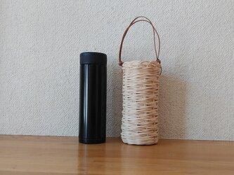 ♪ 北海道 十勝バスケット  水筒カバー生成りの画像