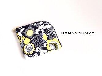 L字ファスナーミニ財布   Large Floral  *357*の画像