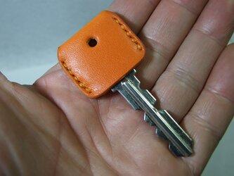 オレンジのキーカバー の画像