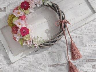 さくら。桜のリースの画像