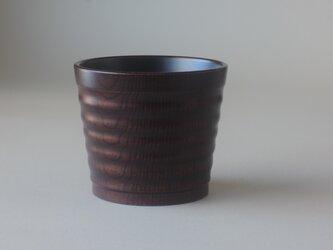 木地溜なみなみカップの画像