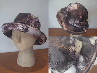 sold out ブリムフワフワ帽子の画像